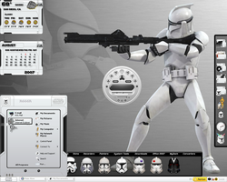 Star Wars Trooper Desktop by a666a