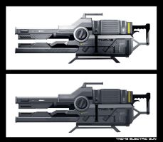Electric Gun 04192013 by WarrGon