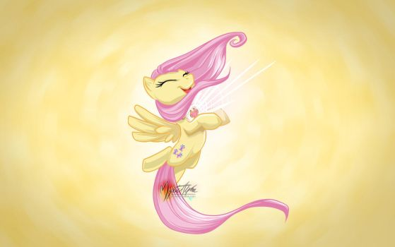 Fluttershy Harmony Element by mysticalpha