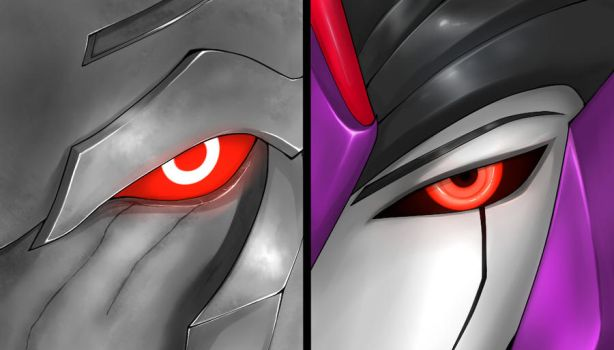 Request:Megatron and Darkstream by ka-ju