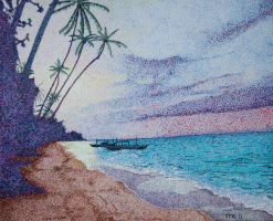 Panglao Sunrise by jfkpaint