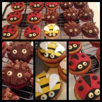 Creature cupcakes by WhyLifeMajestic
