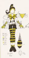 Sailor Sulfer BumbleBee Design by gothicpysi