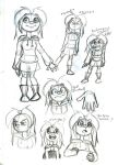 Senior Film: Amy (Concept Doodles 4) by WorldHero