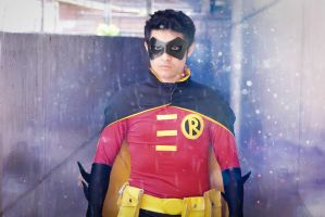 Robin / Tim Drake by lordwosh