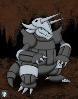 Aggron by Meteor-05