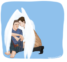 Tumblr req - Destiel by Poralizer