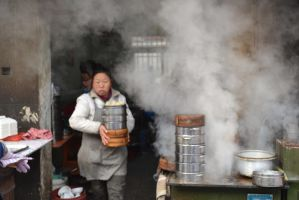 Steaming Buns by Amarganth