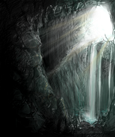 cave by catfinches