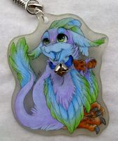 Flix keychain by SirKittenpaws