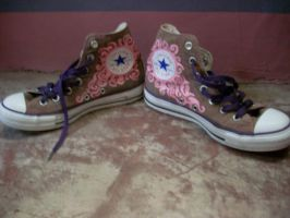 another pair of painted shoes by markthat