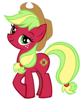 Applejack G3 concept vector by Durpy