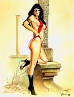 Vampirella Cover 61 by Xenomorph71