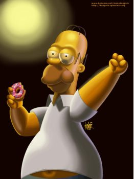 H is for Homer by manukongolo