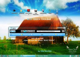 Blue Touch Toolbar by TomRichter