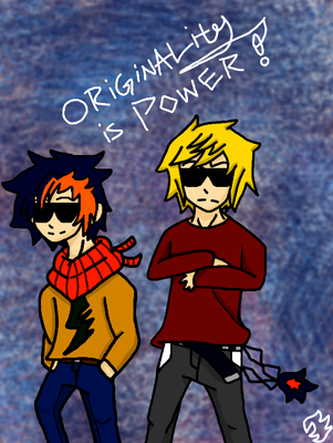 Originality is Power! by KallinBlizzard