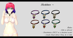 [MMD] Necklace DL ~ by o-DeadSilverVirus-o