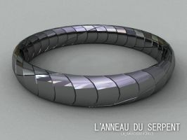 Snake ring (1) by lasaucisse