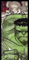 MiniMasterpieces - The Hulk by NicolasRGiacondino