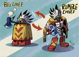 Rumble Chief by weremole