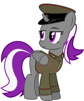Soviet Officer Rainy by BRONYVAGINEER