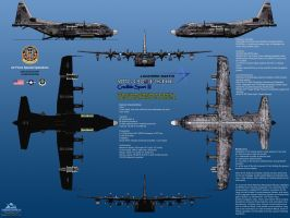 Lockheed YMC-130J Credible Sport III, Fully Loaded by haryopanji