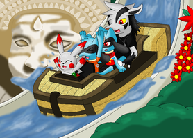 A ride on the Dragon Falls by pokemonlover5673