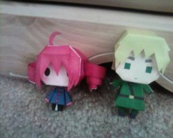 Paper Dolls: Teto and England by Innocently-Creating