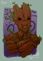 I Am Groot by TopHatTruffles