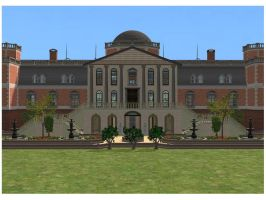 Sims 2 Luxury Mansion by RamboRocky