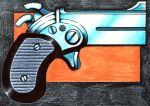 44 Magnum Derringer by Frohickey