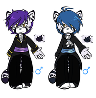custom adopts for xXxMoonstoneTiaraxXx by Joel-Grizzlebeard