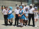 Kaworu and Rei Group Shot at AX 2016 by R-Legend