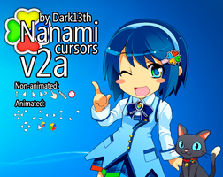 Nanami Cursors v2a by dark13th