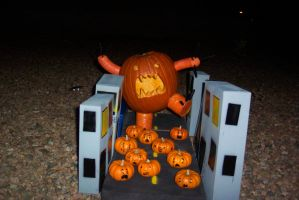Pumpkin-Zilla for Contest by firefly-vs-the-sun