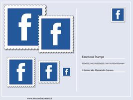 Facebook Stamps by LaAlex