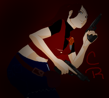 Claire redfield resident evil by LillyGamer