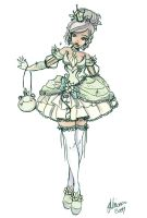 Pricess Tiana Lolita Sketch by NoFlutter