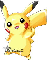Pikachu by ShippoKawaii