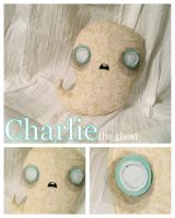 Charlie the Ghost Plush by SushiLuvZombie