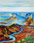 Grand Canyon III large by LauraHolArt