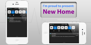 New Home NotificationCenter theme 1.0 by KillingTheEngine
