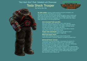RA2 Mod- Tesla Trooper (AKA Tesla Shock Trooper) by Harry-the-Fox
