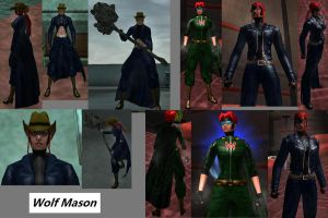CoH Toon Collage 03 by Jaguard