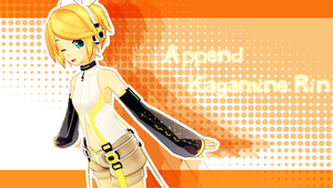 MMD Append Rin-chan by Kanahiko-chan