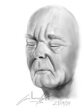 Old Man Face by Sychro