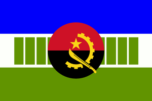 Flag of Kwanyama (Ovambo variant in Angola) by hosmich