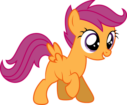 Scootaloo! by GlitchKing123
