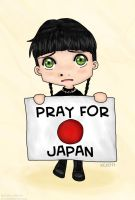 NCIS - Pray for Japan by ryuuri