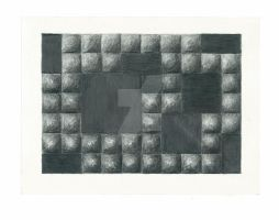 Graphite Squares by AllysonArtwork